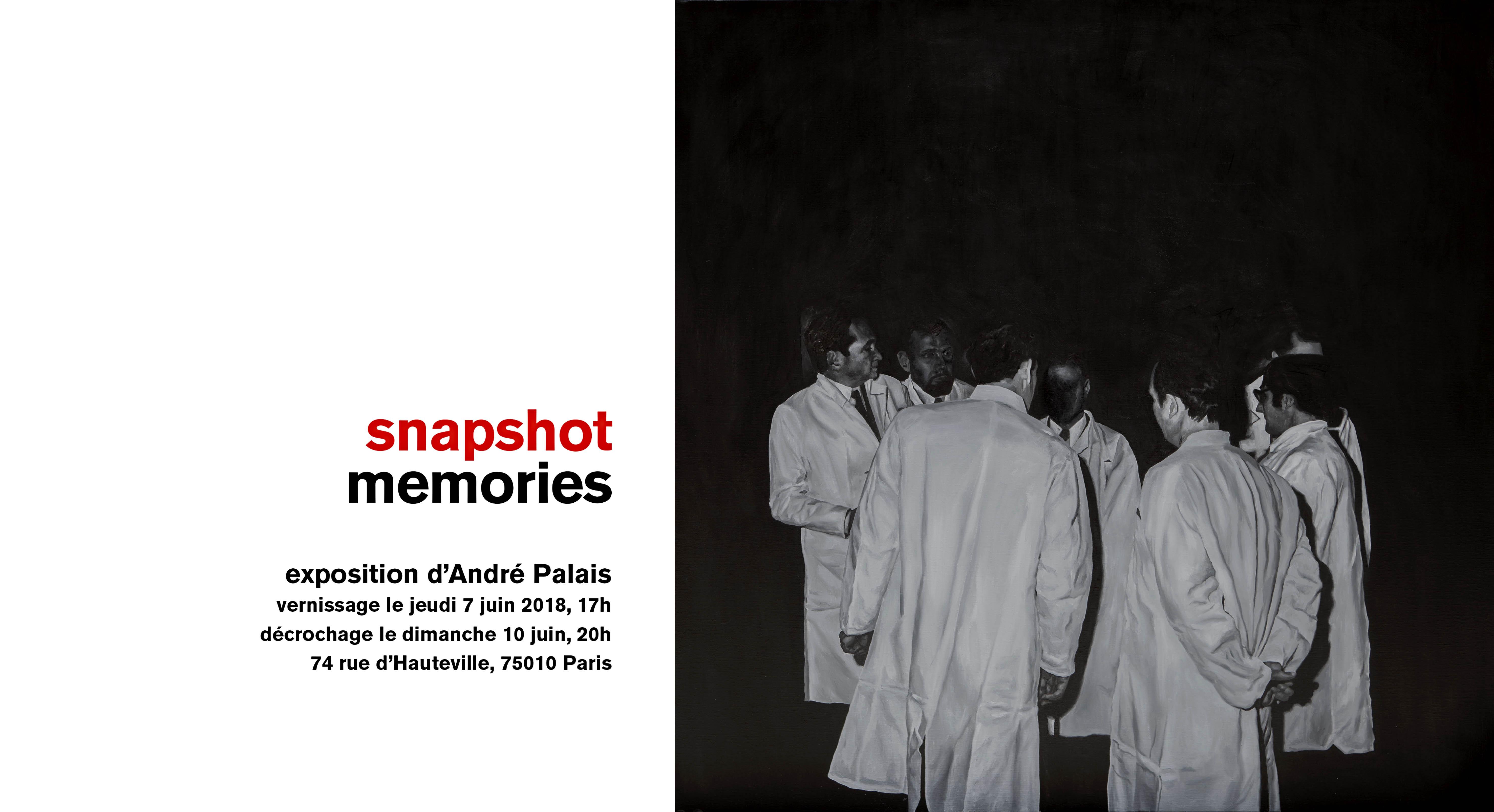 Snapshot Memories Expo André Palais                          le 7 juin 2018